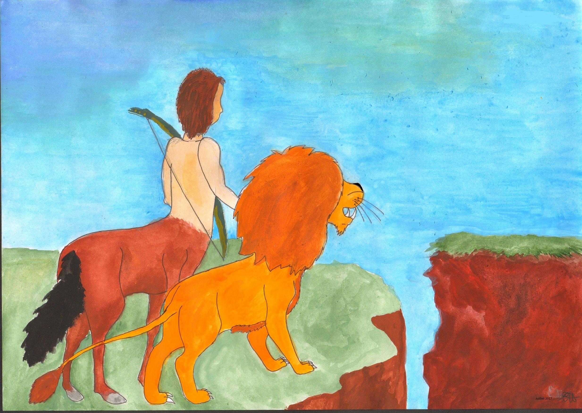 lion sagittaire équipe